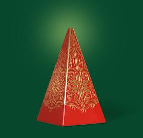 圣诞树造型的礼盒