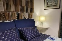 西西里岛艺术民宿次卧一角