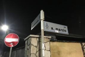 意大利罗马路牌