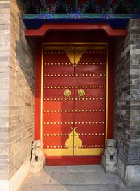 中式传统风格的古门