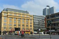 德国法兰克福中心区城市建筑