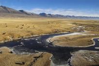 牧区高原河谷