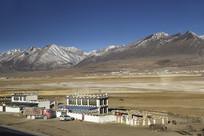 清晨藏民人家