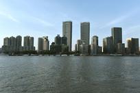 上海北外滩的建筑群