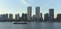上海北外滩的楼群
