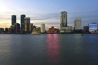 上海北外滩江岸线风景