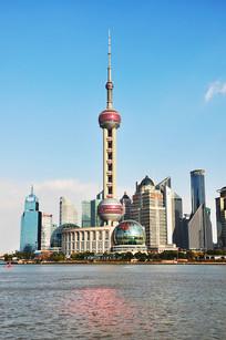 上海陆家嘴的现代化建筑