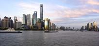 上海陆家嘴金融区风光