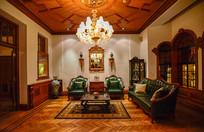 上海马勒别墅客厅