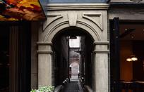 上海新天地的石库门街巷