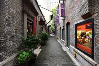 上海新天地的石库门里弄