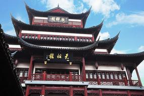 上海豫园城隍庙楼阁