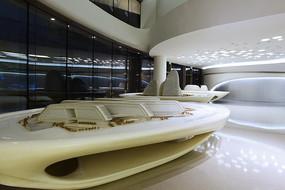 SOHO建筑模型展示大廳