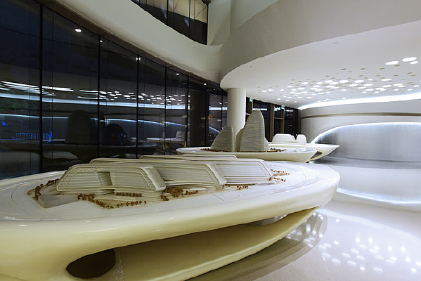 SOHO建筑模型展示大厅