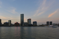上海北外滩的建筑物