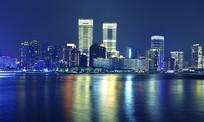 上海北外滩的夜晚