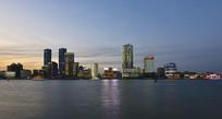 上海北外滩江岸线风光