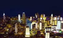上海城市建筑沙盘模型