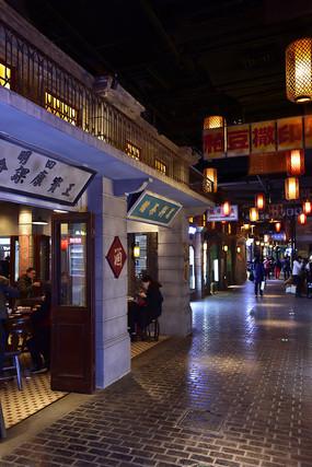 上海老弄堂街景