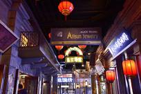 上海老弄堂夜景