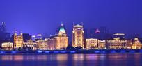 上海外滩的夜色
