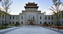 上海杨浦区图书馆的古建筑