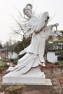 上海植物园仙女雕像
