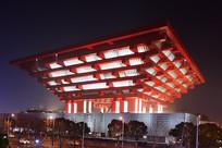 上海中华艺术宫的夜景