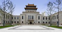 杨浦区图书馆的古楼