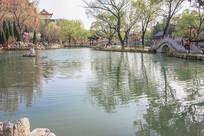 洋溪湖之春