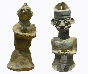 成都五胡十六国时期-板楯蛮陶俑