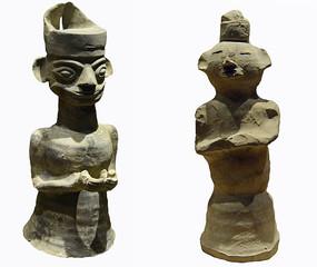 成都五胡十六国时期-賨人陶俑