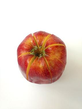 红苹果分切