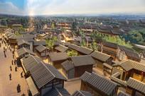老成都城市微缩景观