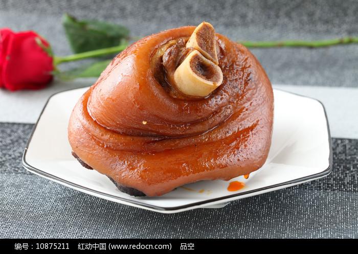 美味食品卤猪蹄膀图片