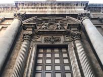 欧式办公楼大门