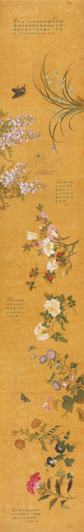 宋代佚名古代花鸟长卷