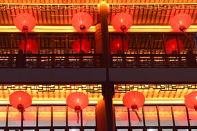 喜庆的大红灯笼