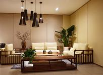 中式古典风格的客厅