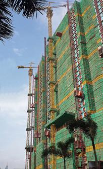 城市楼盘建设