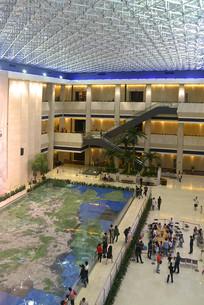 深圳博物馆内景俯拍
