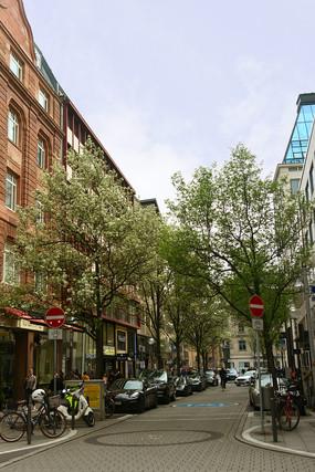 德国法兰克福街道