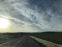 意大利郊外公路
