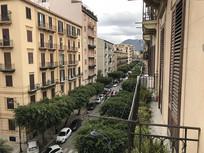 意大利巴勒莫街景横构图