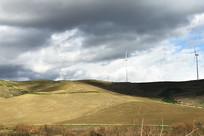 意大利郊外丘陵