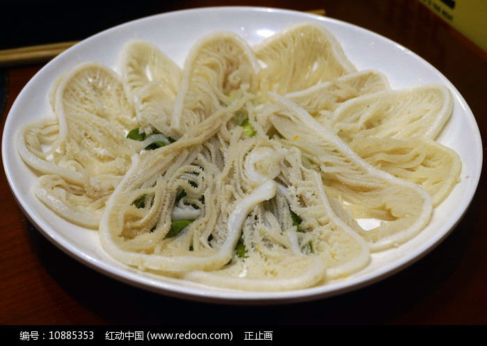 火锅菜-牛百叶图片