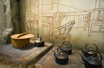 老虎灶和铜壶