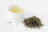 五峰毛尖茶清亮的茶汤