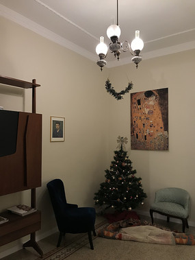 意大利巴勒莫民宿会客厅
