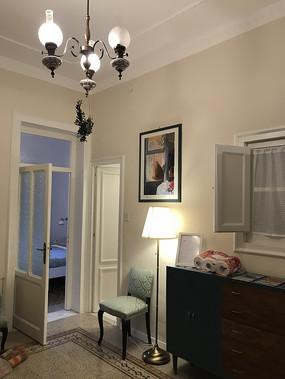意大利巴勒莫民宿客厅一角